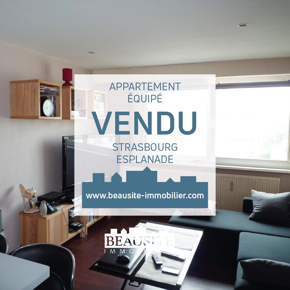 Vendu - Charmant et lumineux 2P - Rue d'Oslo - nos ventes - Beausite Immobilier 1