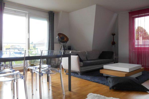 Superbe 3 pièces meublé avec terrasse et parking - Mittelhausbergen / prox Béthel