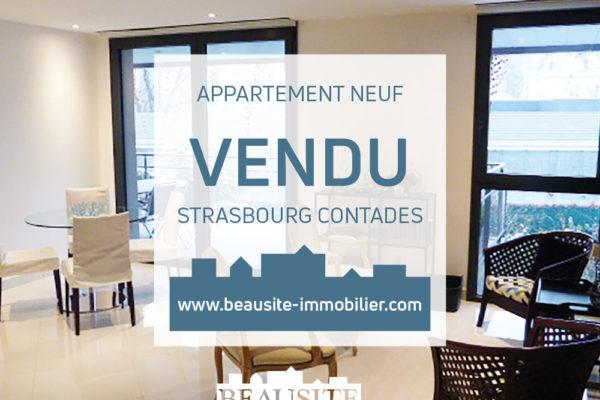 VENDU - Splendide 3P neuf - Strasbourg Contades