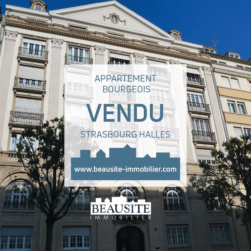 **** VENDU**** Superbe 5P - 146m² Strasbourg Halles - nos ventes - Beausite Immobilier 1