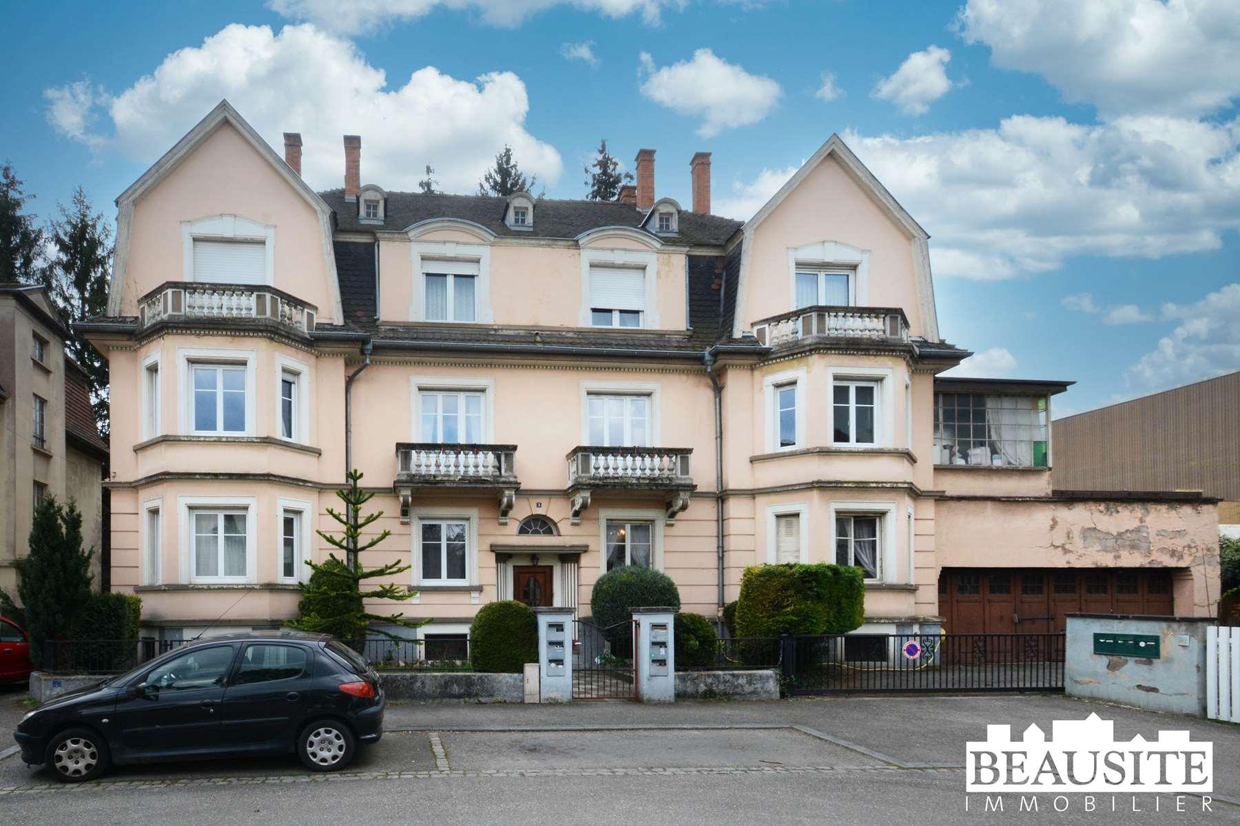 [La Duchesse] Un appartement royal dans un immeuble de caractère - Schiltigheim / Malteries - nos ventes - Beausite Immobilier 1