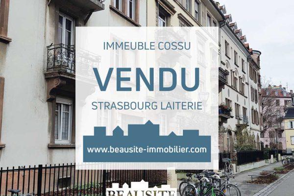 VENDU - Magnifique immeuble de rapport - Strasbourg