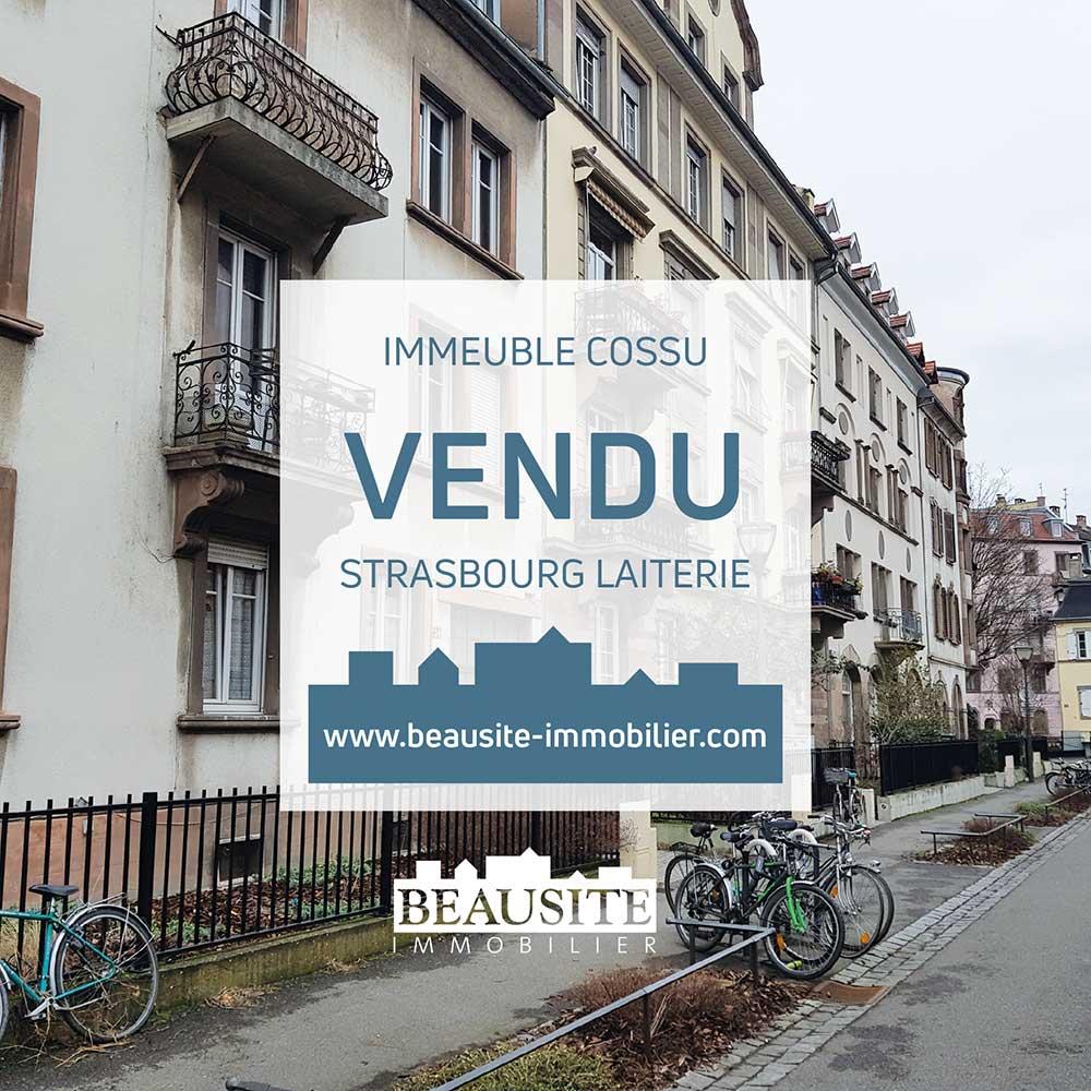 VENDU - Magnifique immeuble de rapport - Strasbourg - nos ventes - Beausite Immobilier 1