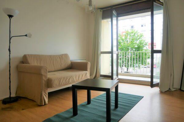 [First] Charmant 2 pièces meublé avec balcon - Neudorf / rue de Soultz