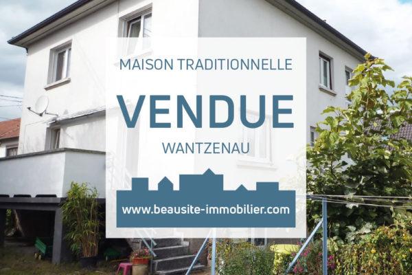 VENDUE ! Très belle maison - La Wantzenau