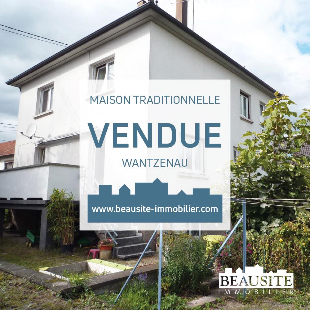 VENDUE ! Très belle maison - La Wantzenau - nos ventes - Beausite Immobilier 1