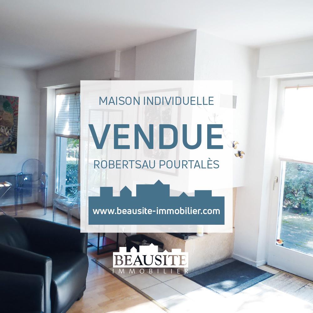 VENDUE ! Spacieuse maison 6P - Robertsau - nos ventes - Beausite Immobilier 1