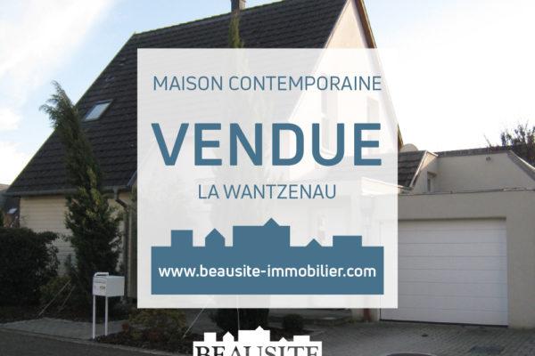 VENDUE Jolie maison moderne 7P - La Wantzenau
