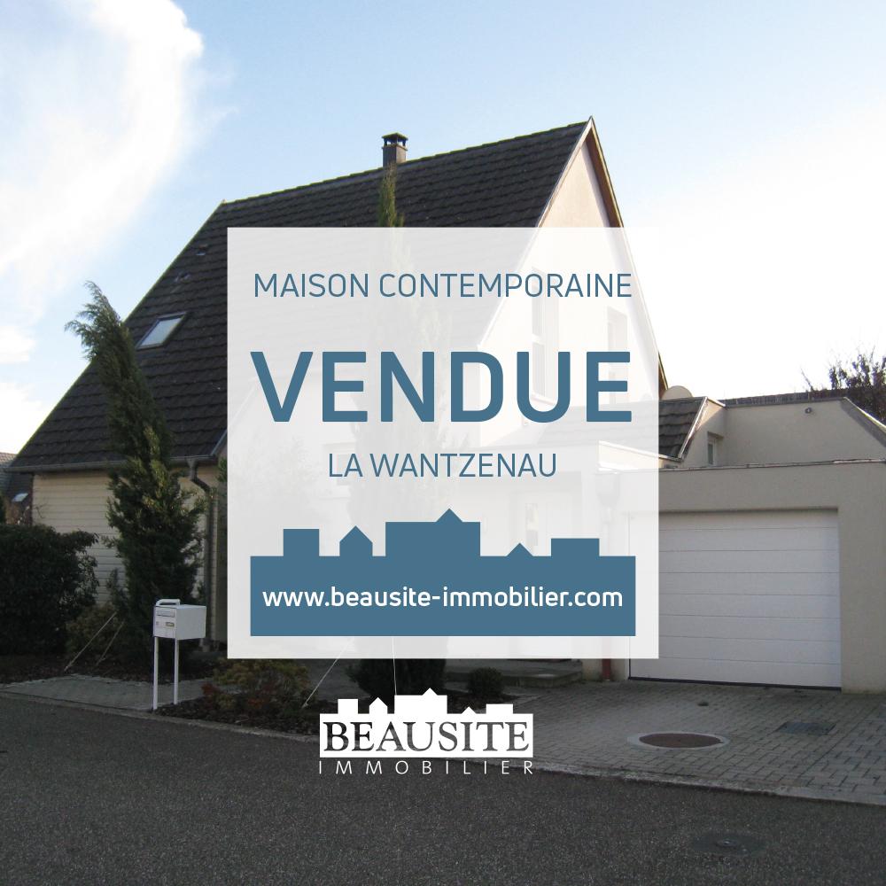 VENDUE Jolie maison moderne 7P - La Wantzenau - nos ventes - Beausite Immobilier 1