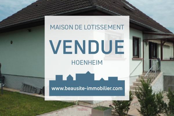 VENDUE ! Charmante maison - Hoenheim