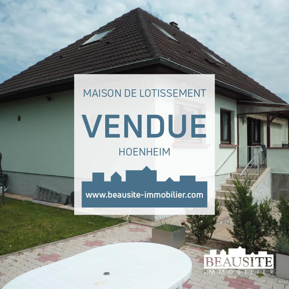 VENDUE ! Charmante maison - Hoenheim - nos ventes - Beausite Immobilier 1
