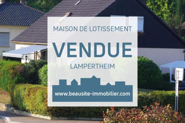 VENDUE ! Spacieuse maison - Lampertheim Ecole