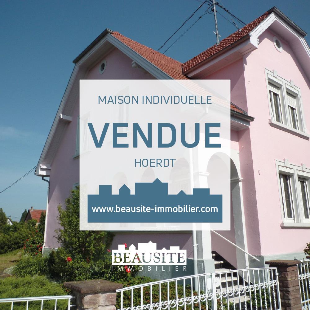 VENDUE ! Jolie maison - Hoerdt - nos ventes - Beausite Immobilier 1