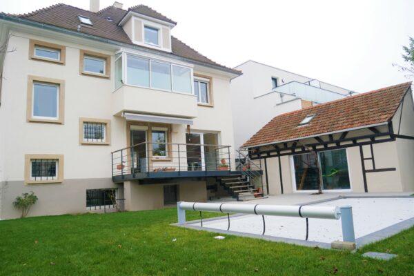 Maison 6 pièces meublée avec piscine et jardin / Illkirch - Route de Lyon