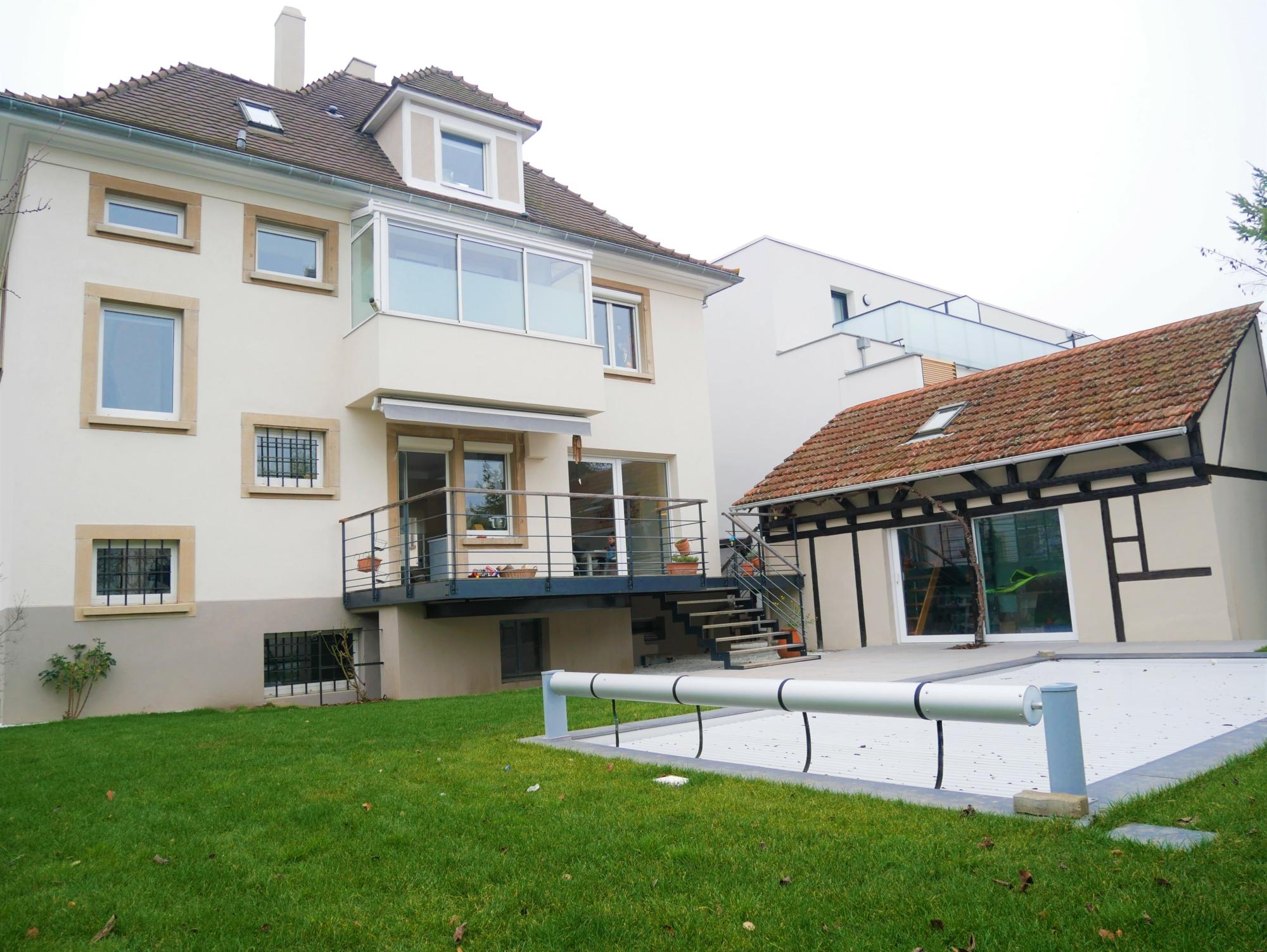 [Pool] Maison 6 pièces meublée avec piscine et jardin / Illkirch - Route de Lyon - nos locations - Beausite Immobilier 1