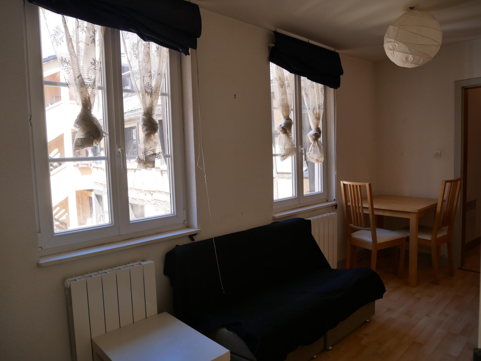 [Dentelle] 2 pièces meublé – Petite France / rue des Dentelles - nos locations - Beausite Immobilier 1