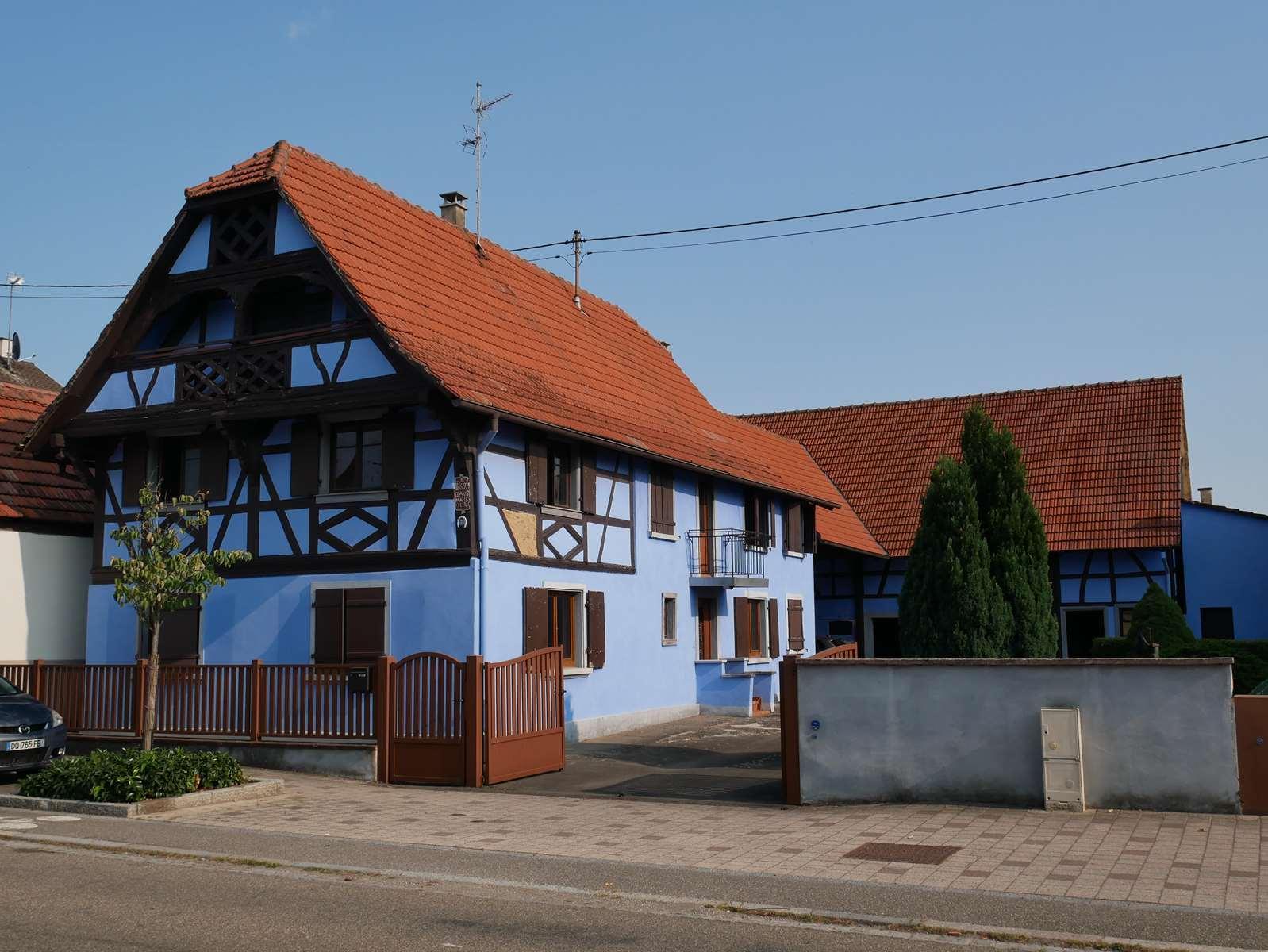 [Farmer] Une superbe maison alsacienne dans un corps de ferme - Weyersheim - nos ventes - Beausite Immobilier 1