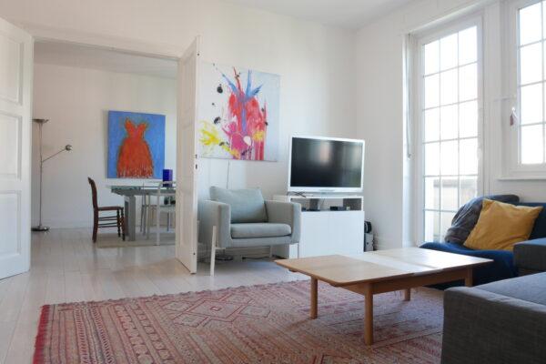 [Bohème] Agréable 3 pièces meublé – Boulevard d'Anvers/ rue Saint-Maurice