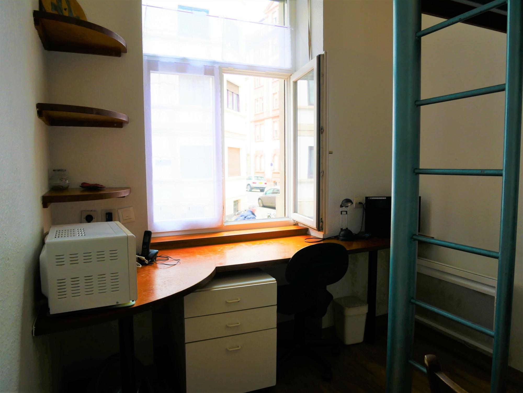 [Tiny] Chambre meublée - Av. des Vosges / rue Sellenick - nos locations - Beausite Immobilier 1