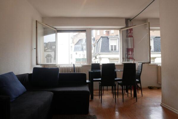 [Etoile] Un appartement avec travaux au coeur de l'Orangerie - Place Golbéry / rue Fischart