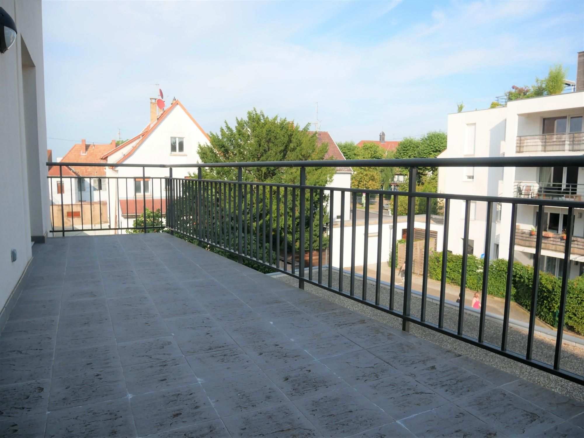 [Rod] Un superbe 3 pièces en état neuf avec terrasse et garage – Ganzau / rue des Chanoine Lux - nos locations - Beausite Immobilier 4