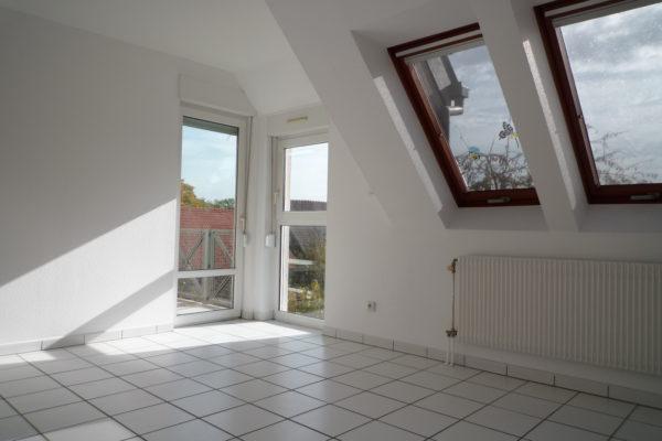 Agréable 2P avec balcon et garage - Fegersheim centre