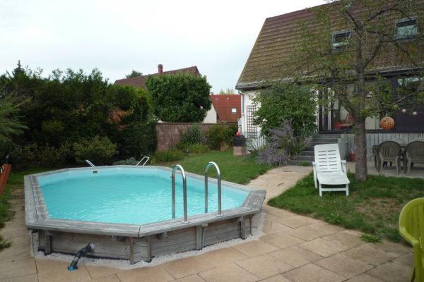 Charmante maison 5P - piscine, jardin, garage ENTZHEIM