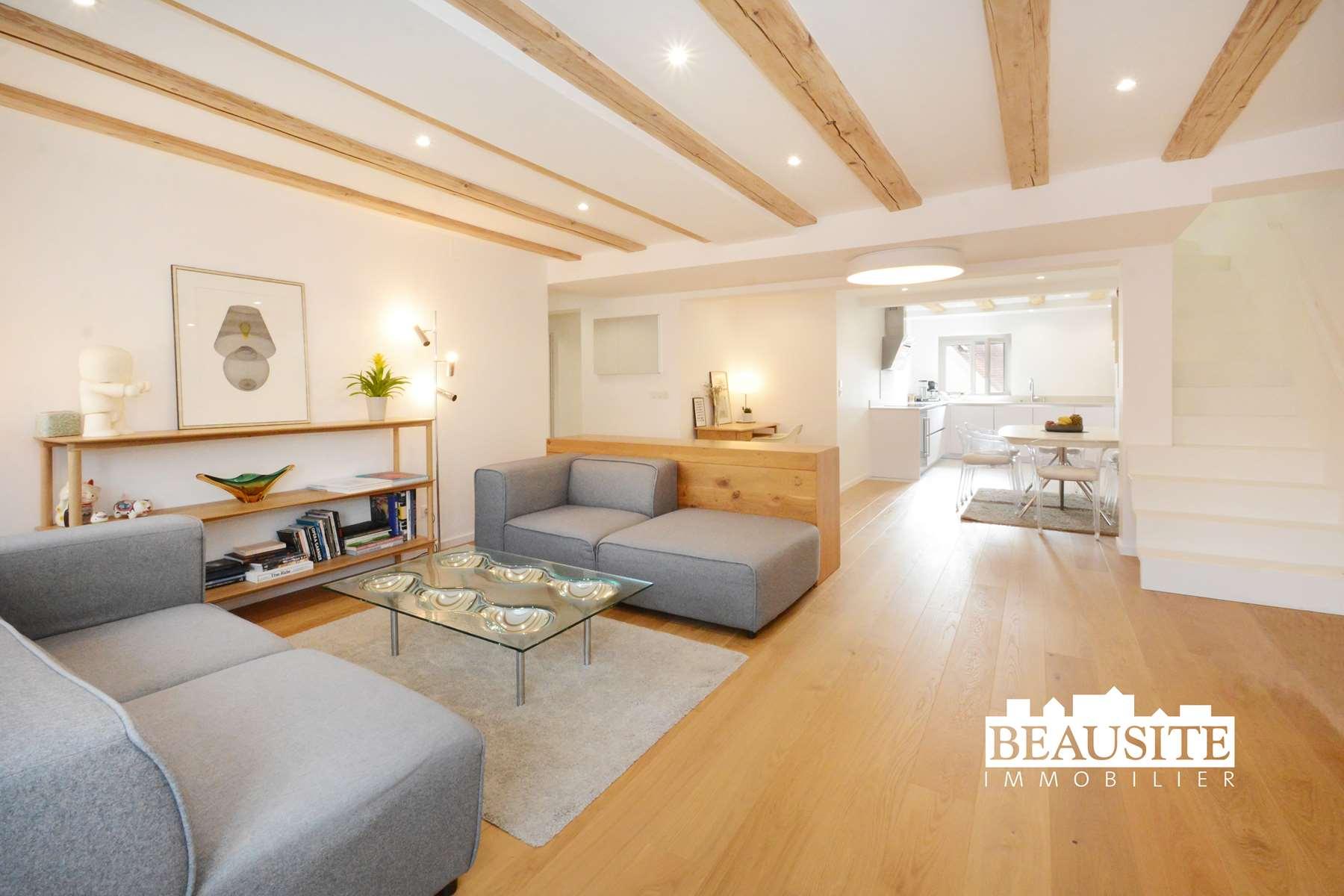 [La Capitale] Un appartement témoin de l'Histoire de Strasbourg - Centre / rue du Faubourg de Saverne - nos ventes - Beausite Immobilier 1