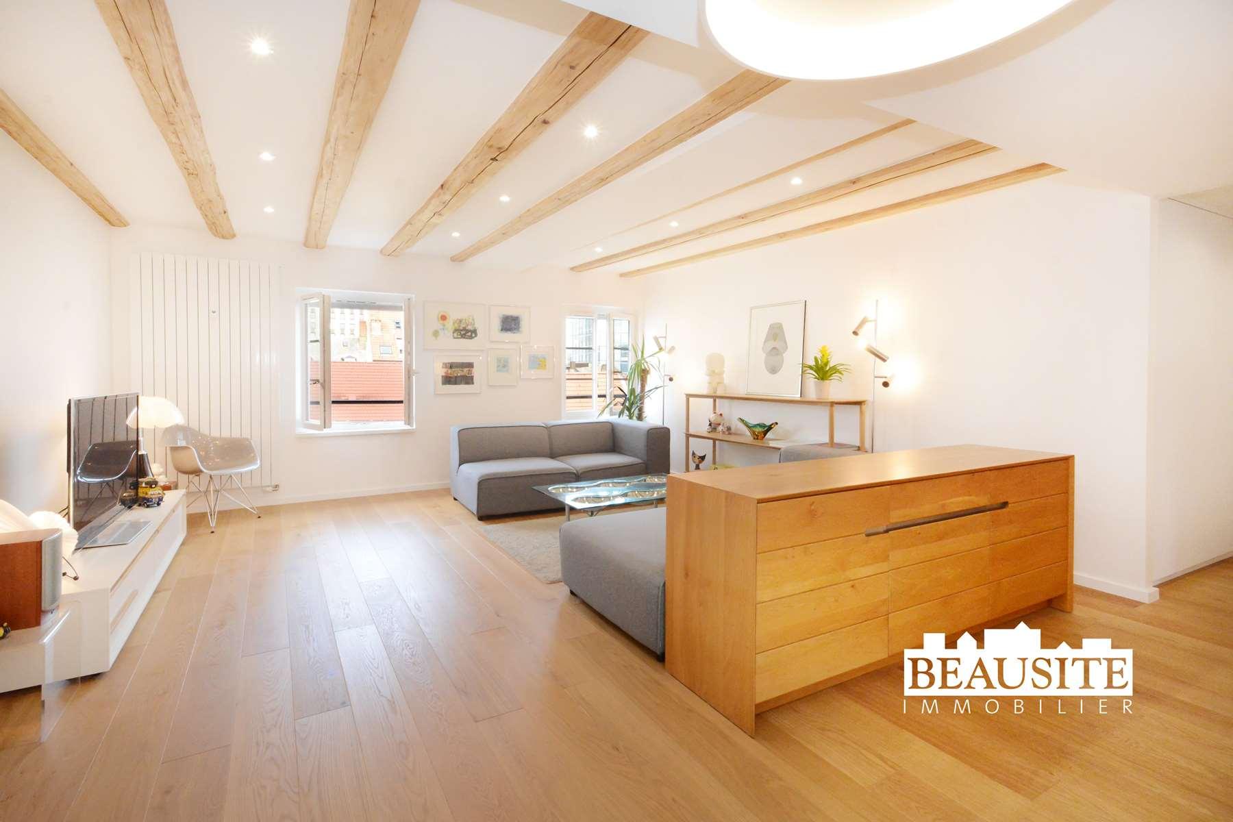 [La Capitale] Un appartement témoin de l'Histoire de Strasbourg - Centre / rue du Faubourg de Saverne - nos ventes - Beausite Immobilier 2