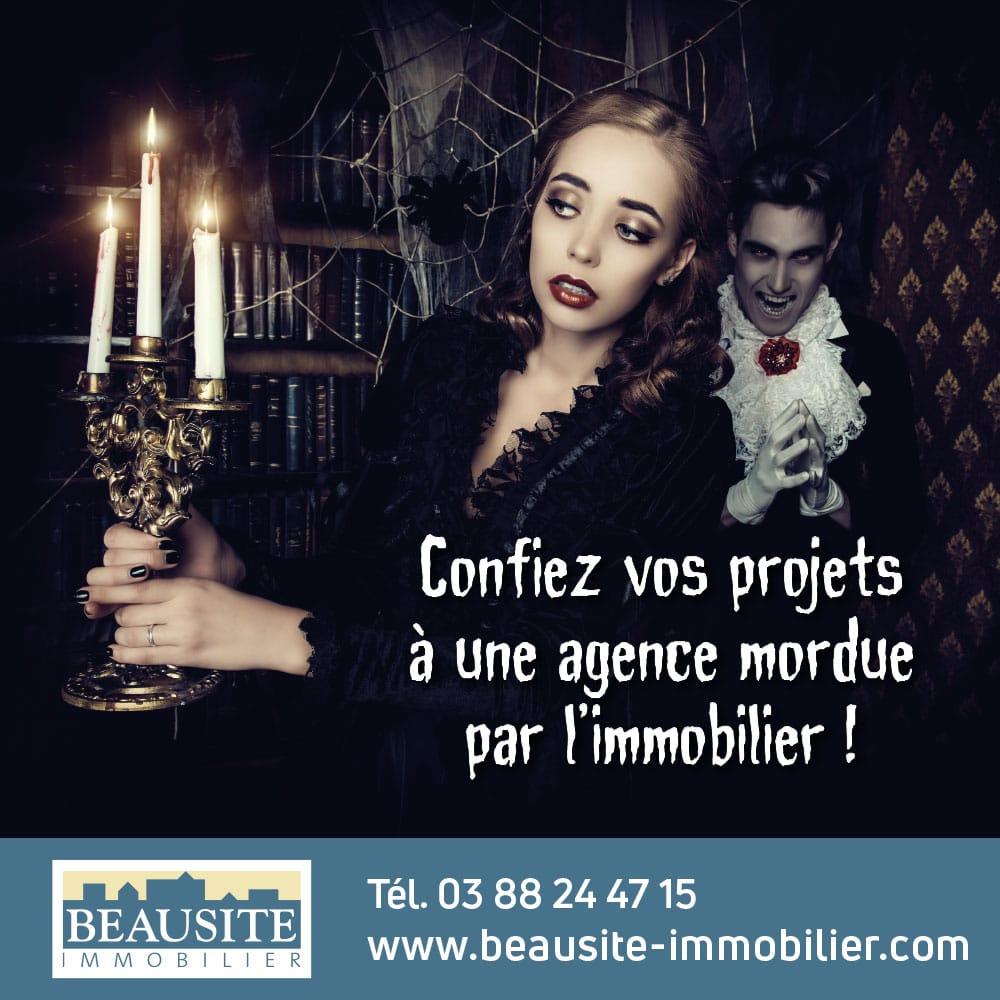 [Halloween] Un manoir au cœur de Strasbourg et son cimetière vivifiant - nos locations - Beausite Immobilier 5