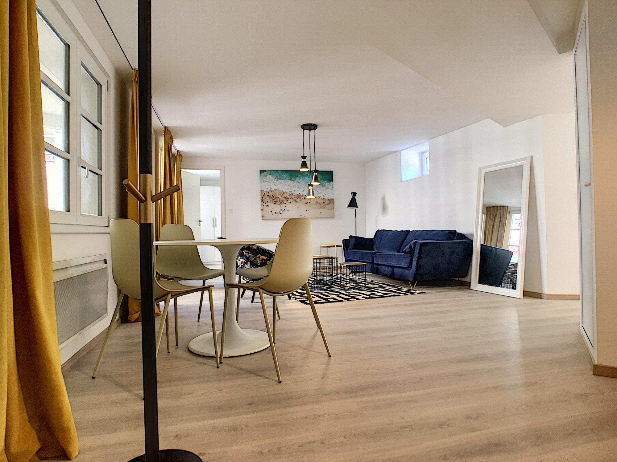 [Atypique] Splendide 2 pièces meublé avec terrasse – Petite France / quai Turckheim - nos locations - Beausite Immobilier 4