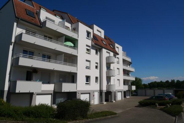 VENDU [Blue] Charmant 3 pièces avec balcons, garage et parking - Haguenau