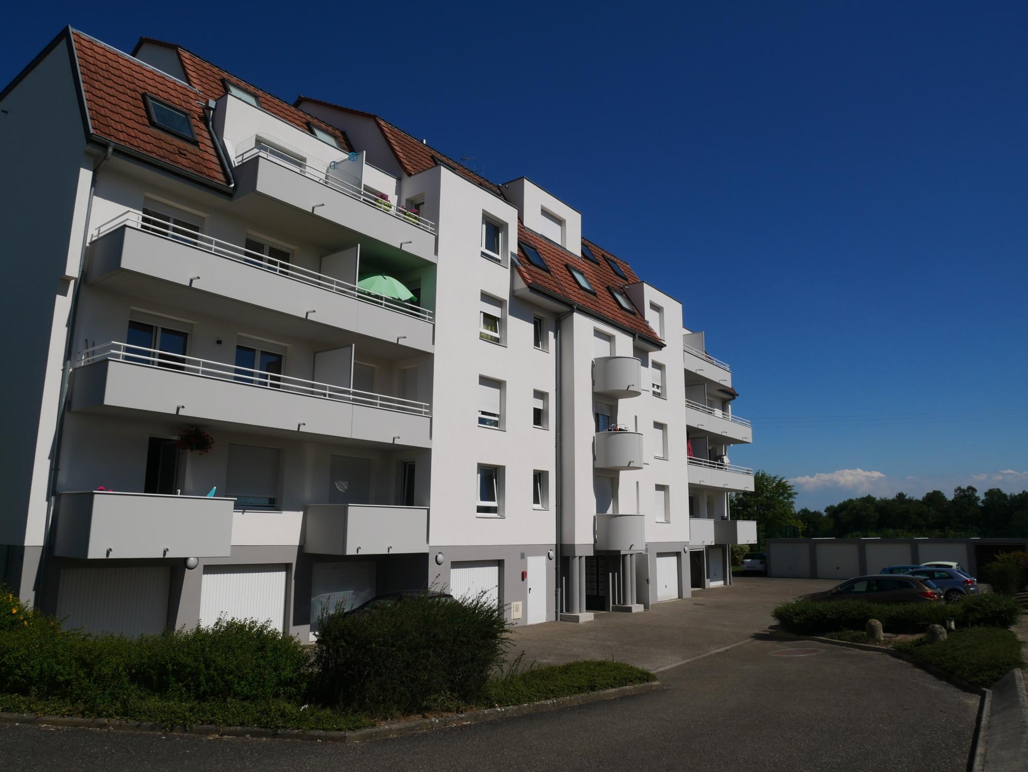 [Blue] Charmant 3 pièces avec balcons, garage et parking - Haguenau - nos ventes - Beausite Immobilier 1