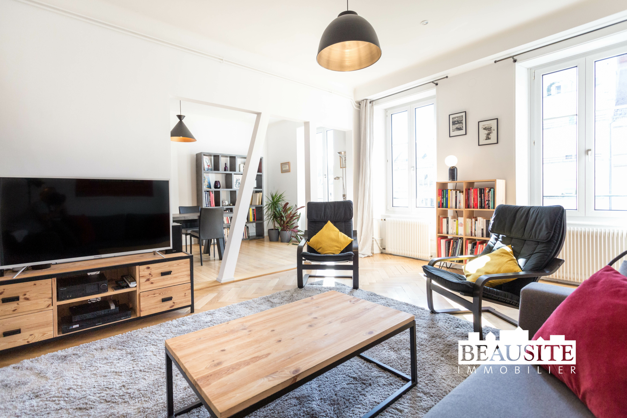 [Sobremesa] L'appartement 5 pièces chaleureux et convivial - Strasbourg / Boulevard du Président Poincaré - nos ventes - Beausite Immobilier 3
