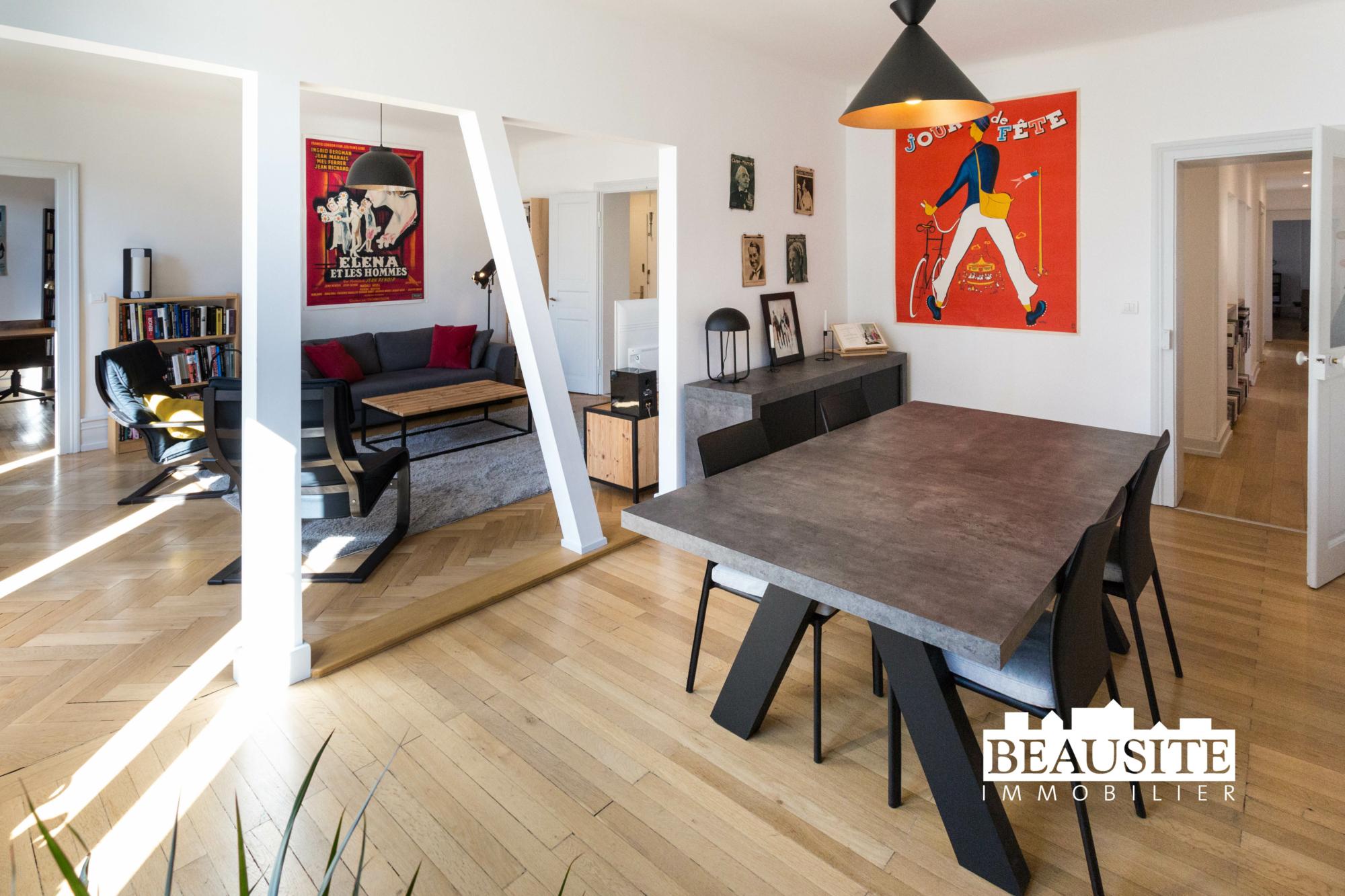 [Sobremesa] L'appartement 5 pièces chaleureux et convivial - Strasbourg / Boulevard du Président Poincaré - nos ventes - Beausite Immobilier 1