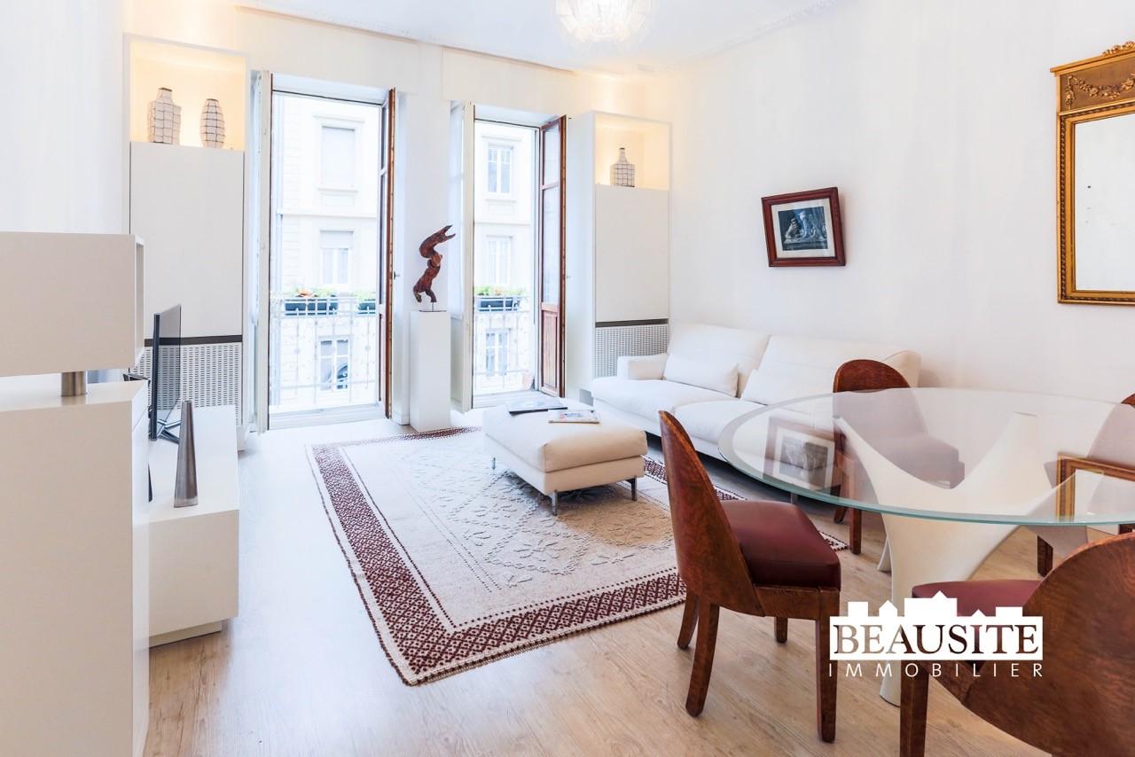 [Archie] Superbe 3 pièces avec balcon, entièrement rénové - Orangerie / rue Wimpheling - nos ventes - Beausite Immobilier 1
