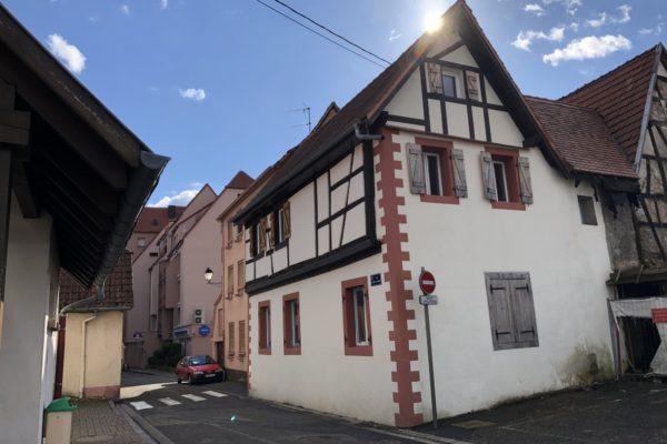 [Rénov] Maison de ville à rénover - Wissembourg