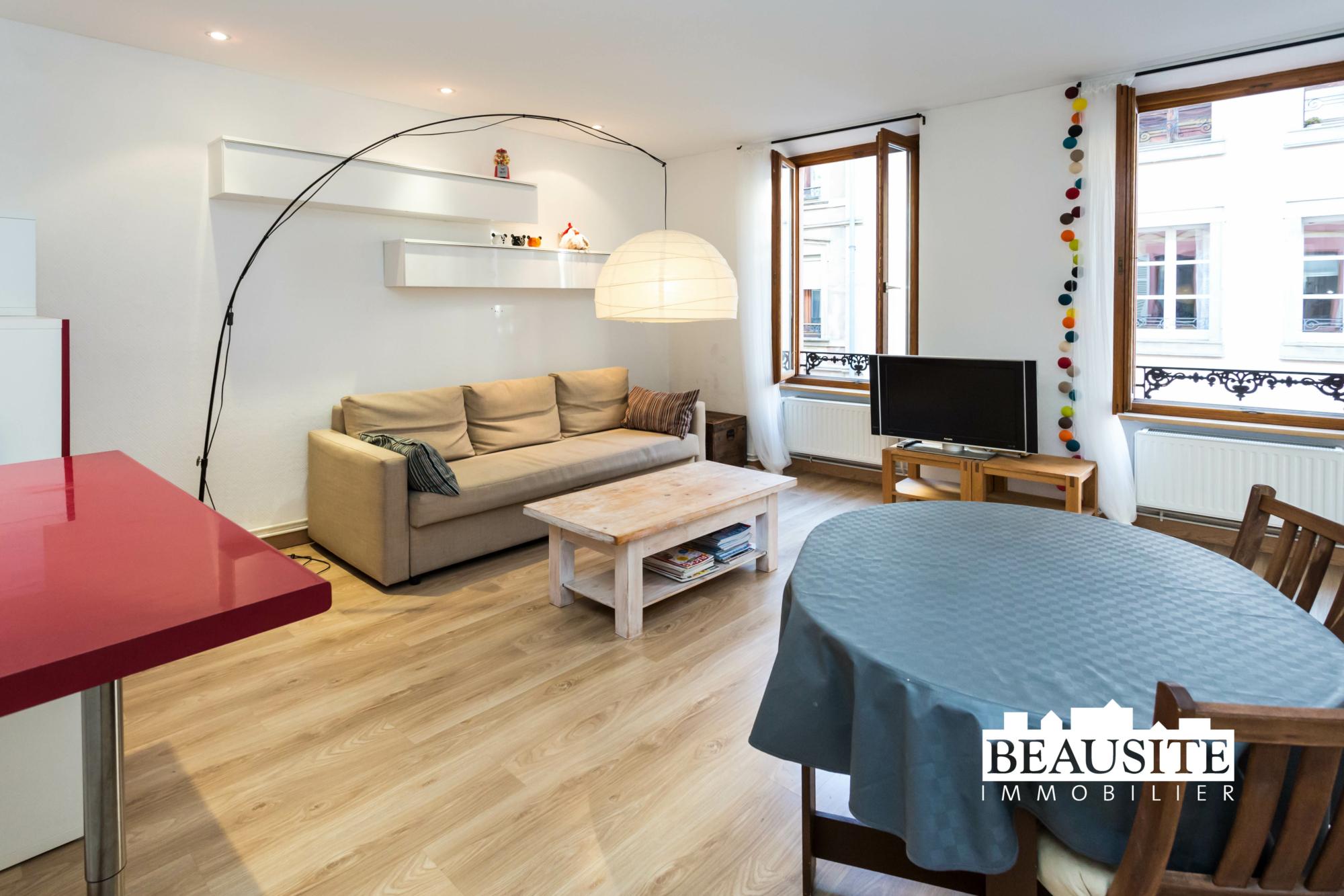[Mick] Un lumineux appartement aux prestations de qualité - Gare / rue des Païens - nos ventes - Beausite Immobilier 1
