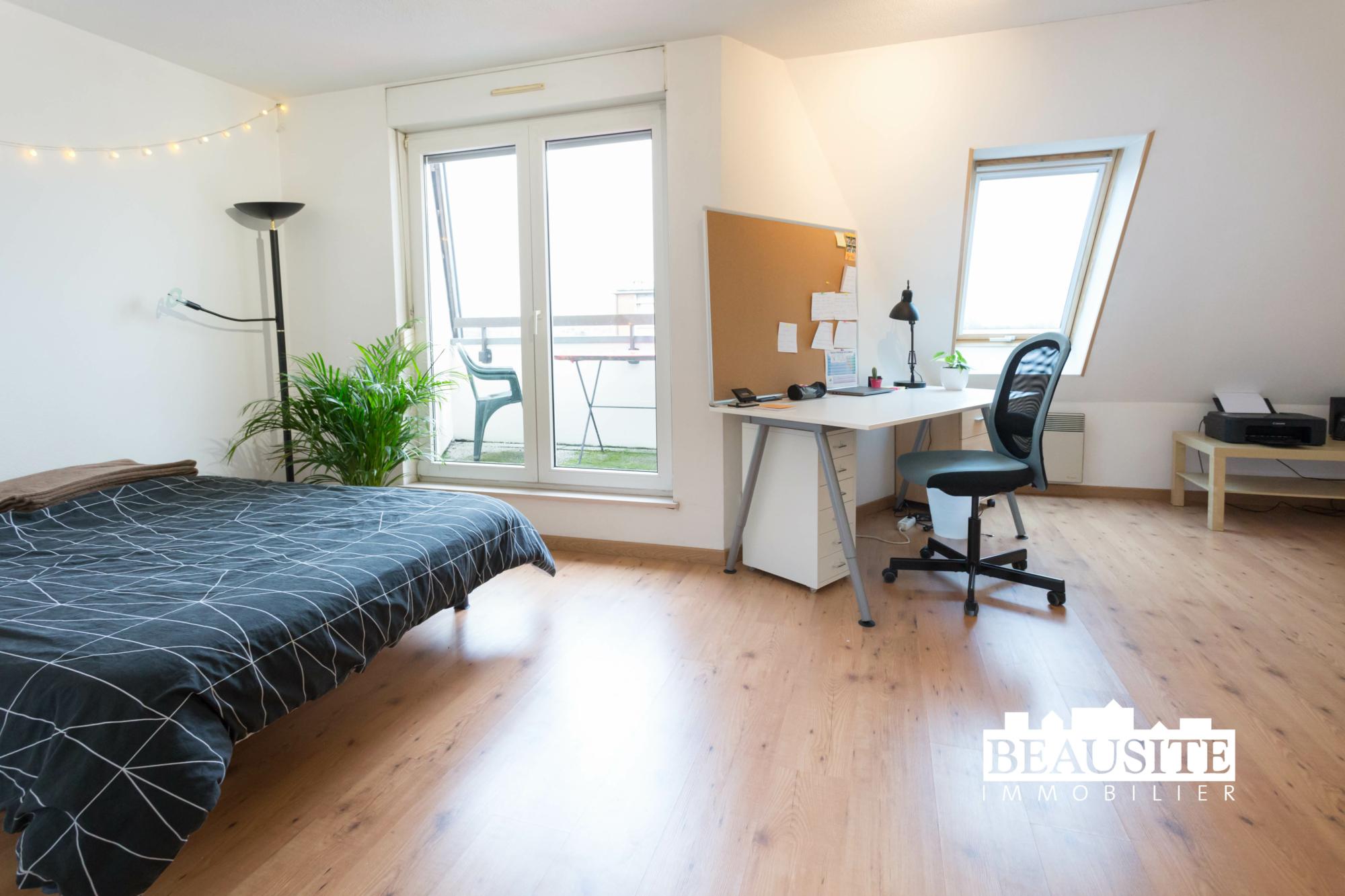 [Everest] Un studio au top en face du Lycée Kléber ! - nos ventes - Beausite Immobilier 1