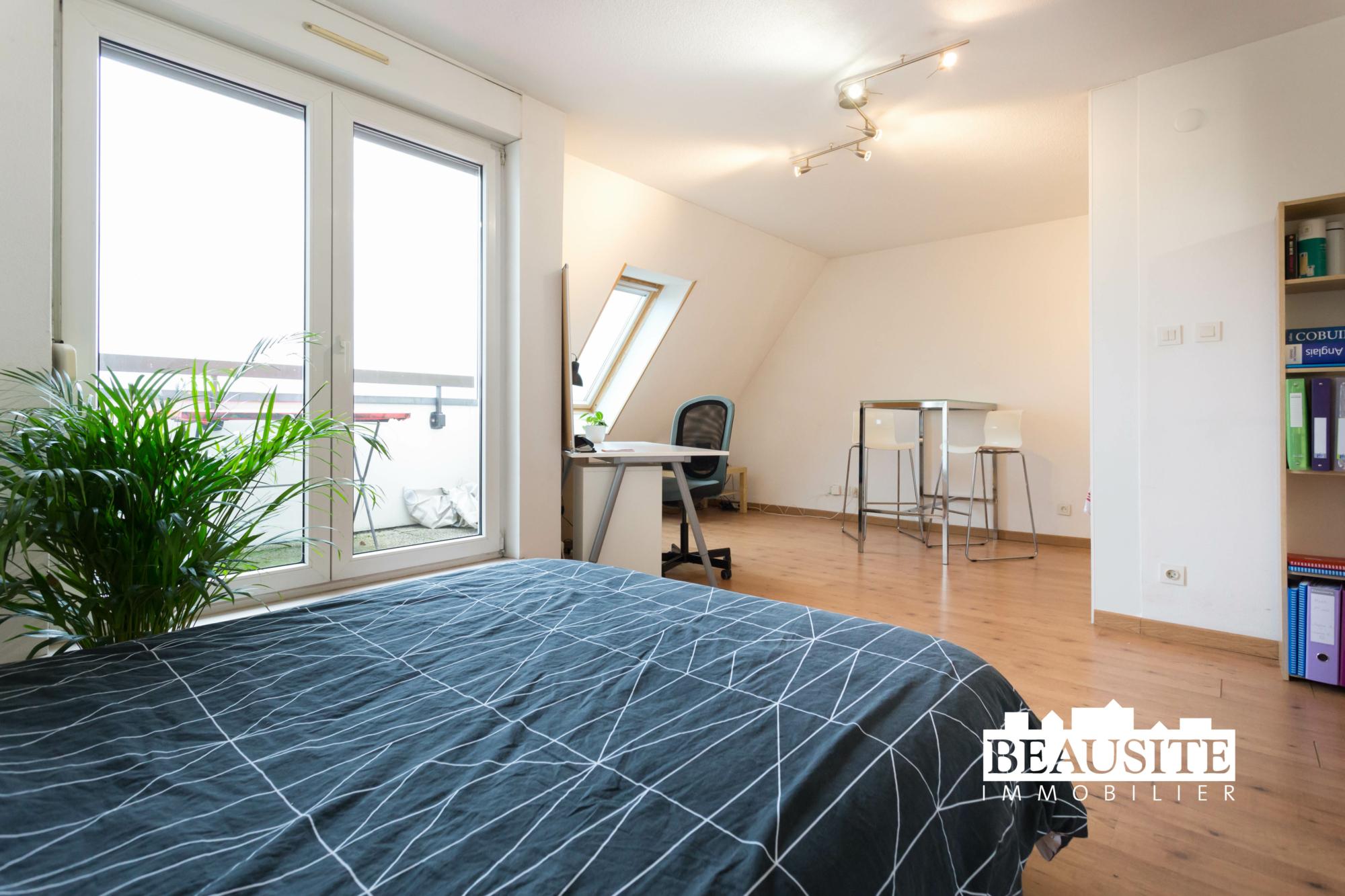 [Everest] Un studio au top en face du Lycée Kléber ! - nos ventes - Beausite Immobilier 2