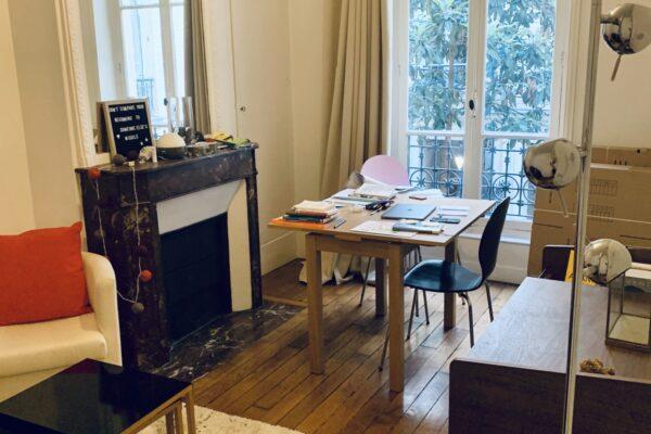 [Estampe] Lumineux 2 pièces - Paris 18 / rue Tardieu