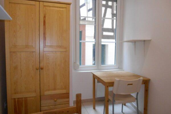 [Spoon] Chambre meublée - Petite France / Quai Finkwiller