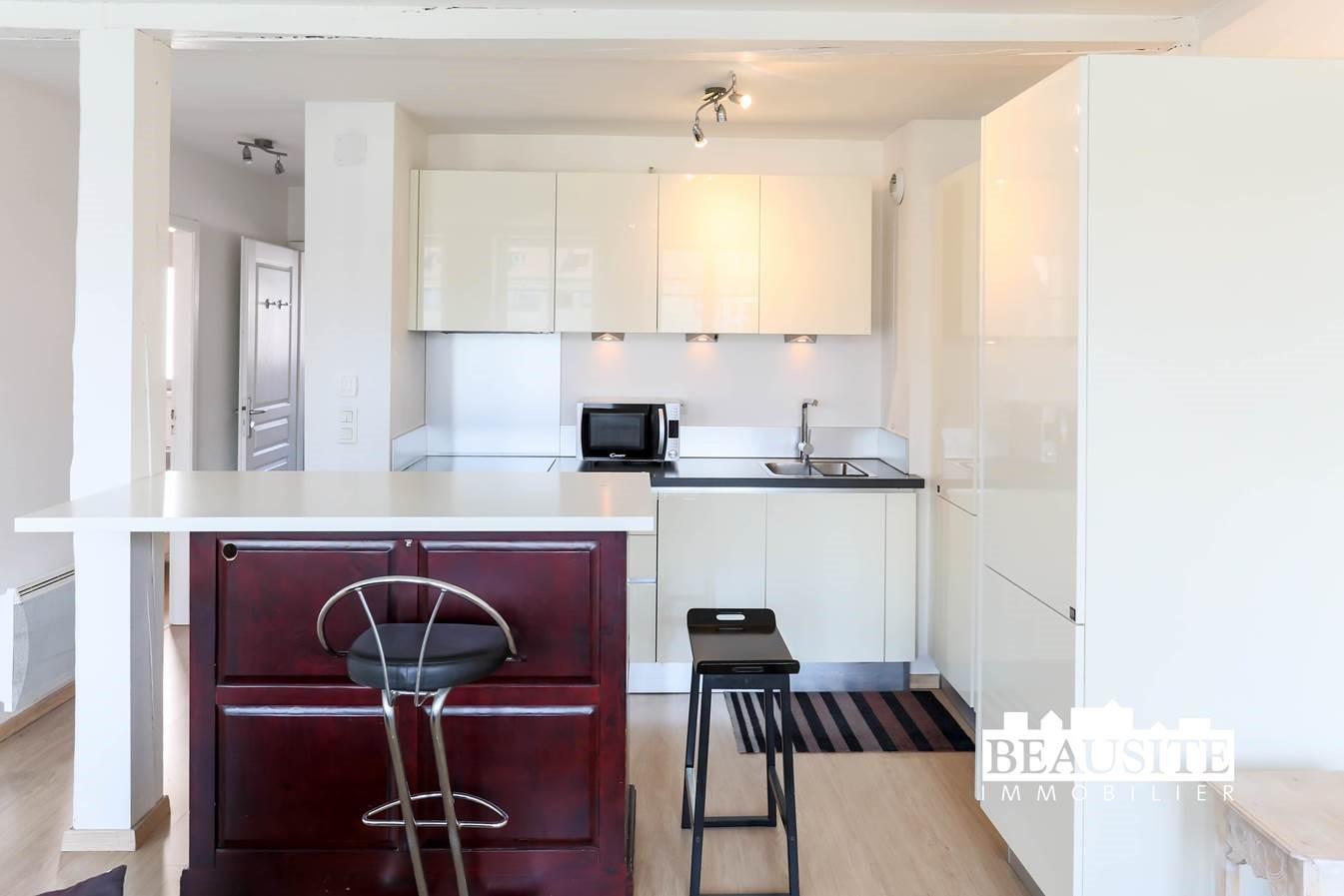 [Le Batelier] Agréable 2 pièces meublé - Krutenau / Quai des Bateliers - nos locations - Beausite Immobilier 4