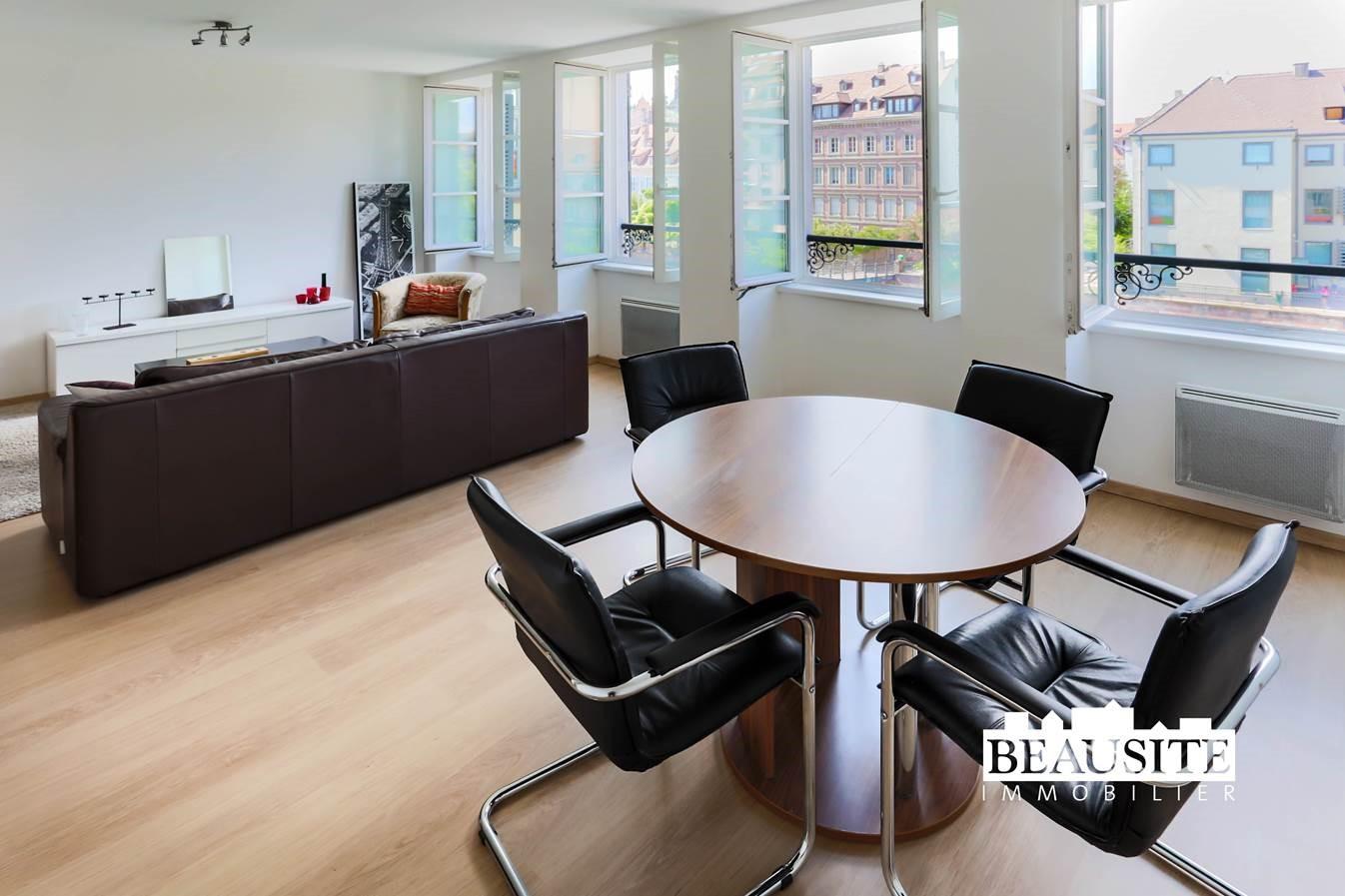 [Le Batelier] Agréable 2 pièces meublé - Krutenau / Quai des Bateliers - nos locations - Beausite Immobilier 1