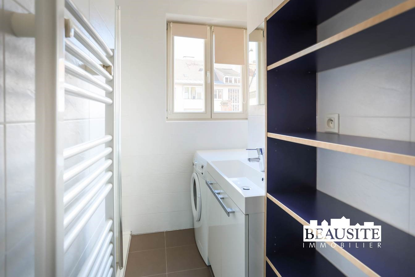 [Batelier] Magnifique 2 pièces meublé - Krutenau / Quai des Bateliers - nos locations - Beausite Immobilier 5