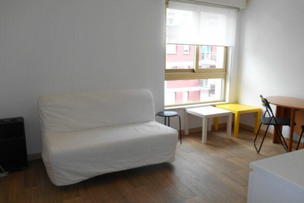 Lumineux studio meublé – Neudorf / rue de Wesserling
