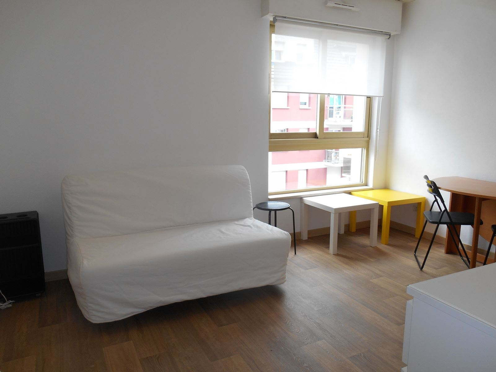 Lumineux studio meublé – Neudorf / rue de Wesserling - nos locations - Beausite Immobilier 1