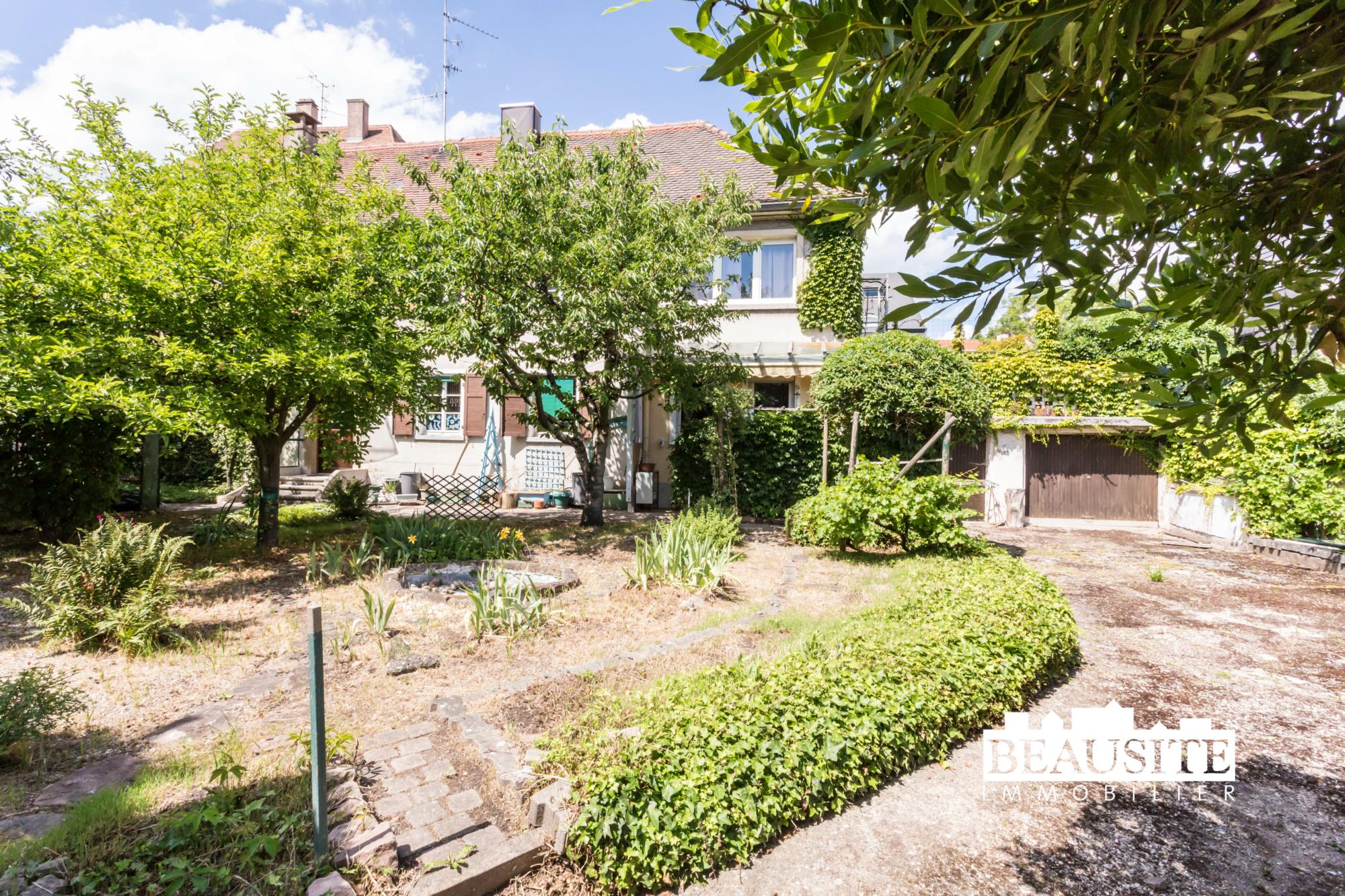 [Eden] Une maison au cœur du Neudorf et son jardin luxuriant - Neudorf / rue Saint-Urbain - nos ventes - Beausite Immobilier 1
