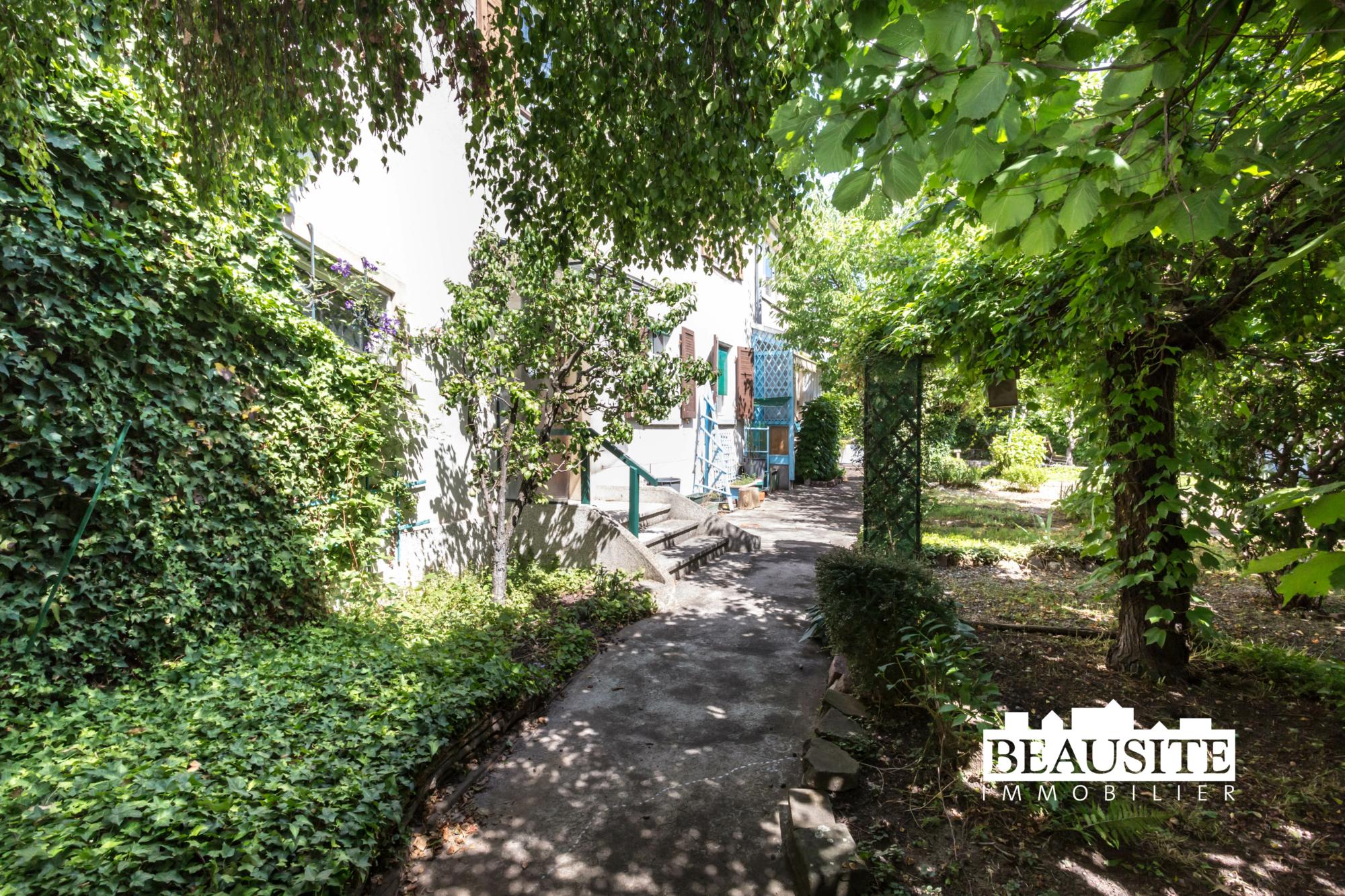 [Eden] Une maison au cœur du Neudorf et son jardin luxuriant - Neudorf / rue Saint-Urbain - nos ventes - Beausite Immobilier 2